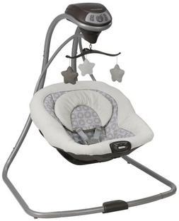 Graco 1927133 Simple Sway Baby Swing Bouncer - Abbington Sea