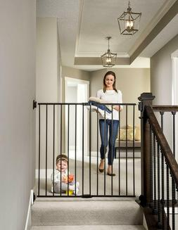 Regalo 2-in-1 Extra Tall Easy Swing Stairway and Hallway Wal