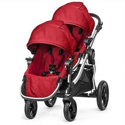 Baby Jogger 2015 City Select Double Stroller - Ruby New!!