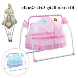 2in1 Multifuntional Electric Baby Cradle Swings Rocking Chai