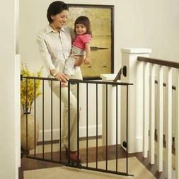 """North States 47.85"""" Easy Swing & Lock Baby Gate Ideal for St"""