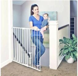 """North States 4972 47.85"""" Easy Swing and Lock Baby Gate - Sof"""