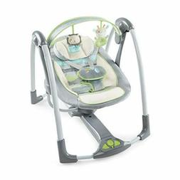 Ingenuity Power Adapt Portable Swing, Vesper/Grey