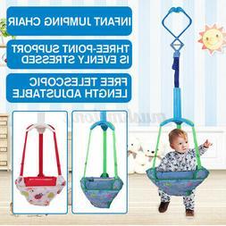 Adjustable Baby Kid Door Jumper Exercise Doorway Swing Jump