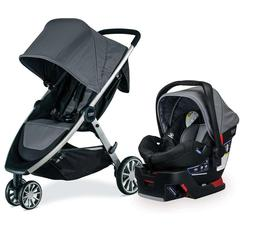 Britax B-Lively Stroller & B-Safe 35 Car Seat Travel System