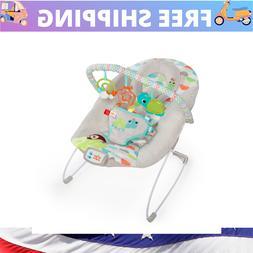 Baby Bouncer Swing Seat Rocker Portable 3 Fun Toys Nonstop G
