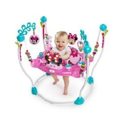 Baby Swing Jumping Seat Chair Play Game Minnie Mouse Activit
