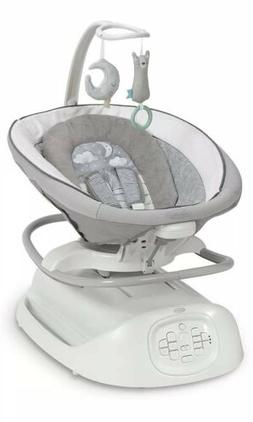 Graco Baby Sense2Soothe Swing w/ Cry Detection Rocker in Sai