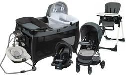Baby Stroller Travel System with Car Seat Playard High Chair