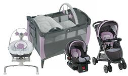 Graco Baby Stroller Travel with Car Seat Playard Crib Infant