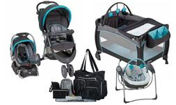 Baby Stroller Travel System with Car Seat Playard Diaper Bag