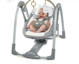 Baby Swing-Ingenuity Boutique Collection Swing 'n Go Portabl