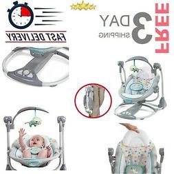 Baby Swing Portable Convertible Newborn Bouncy Seat Swing 2