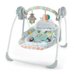 Baby Swing Portable cradle infant bouncer rocker sway toddle