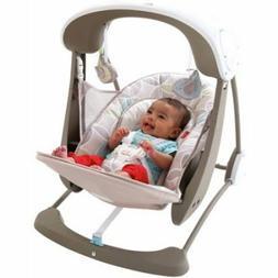 Baby Swing Seat Portable Newborn Girl Boy Music Comfortable