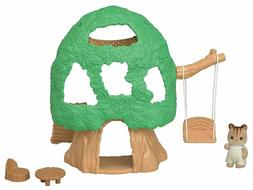 Calico Critters Baby Tree House Play Set Animal Squirrel Swi