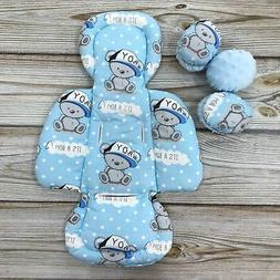 Blue Boy Set Newborn Insert Matching Toy Balls for mamaRoo 4