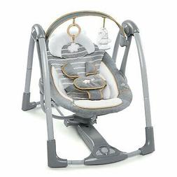 boutique collection swing n go portable swing