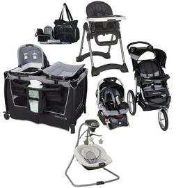 Baby Trend Combo Jogger Stroller Travel System Car Seat Swin