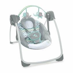 Ingenuity Comfort 2 Go Portable Swing, Jungle Journey