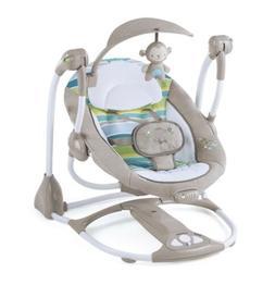Ingenuity ConvertMe Swing-2-Seat Portable Swing - Moreland !