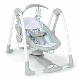 Ingenuity ConvertMe Swing-2-Seat Portable Swing - Raylan