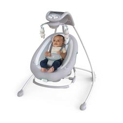 DreamComfort InLighten Cradling Swing & Rocker w/ Rotating 1