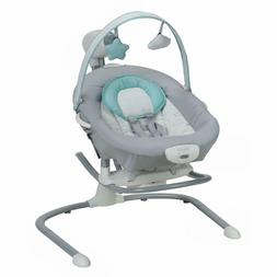 Graco Duet Sway Swing with Portable Rocker - Skye FAST FREE