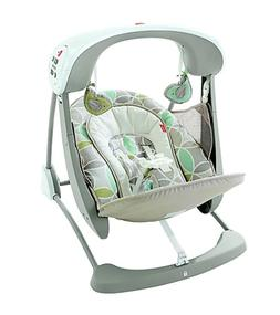 Fisher-Price Deluxe Take-Along Swing and Seat in Mocha Swirl
