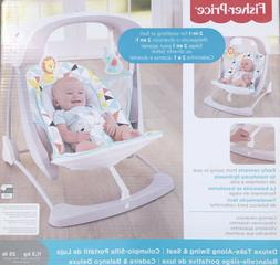 Fisher-Price Deluxe Take-Along Swing Seat Stationary Infant