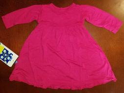Kickee Pants Infant Girl Rhododendron Swing Dress w Keyhole