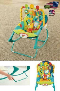 Ingenuity Swing n Go Portable Baby Swings Hugs & Hoots FREE
