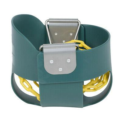 3-In-1 Baby Playground Outdoor Bucket Game Green
