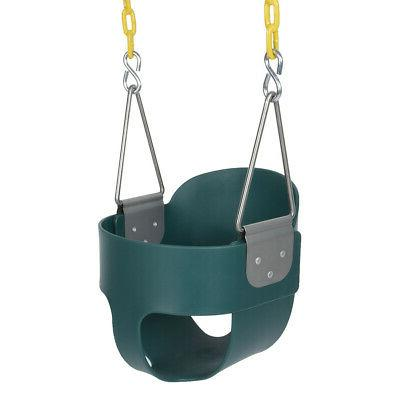 3-In-1 Baby Seat Outdoor Back Bucket Game Green