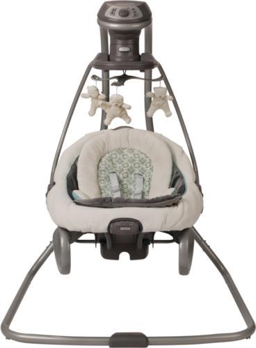 baby swing and rocker infant comfort cradle