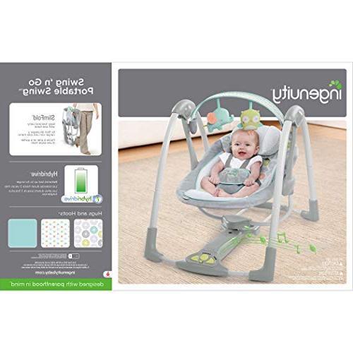 Ingenuity Go Portable Baby Hugs & Hoots