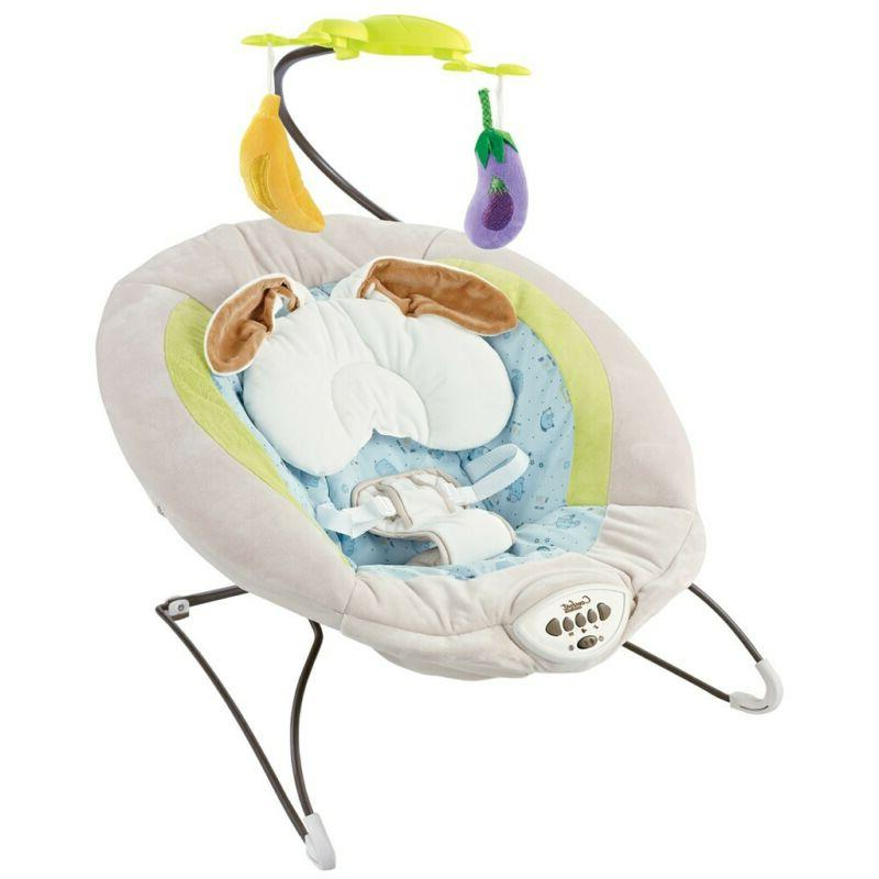 Baby Bouncer Rocker Portable Electric Sounds Infant Chair
