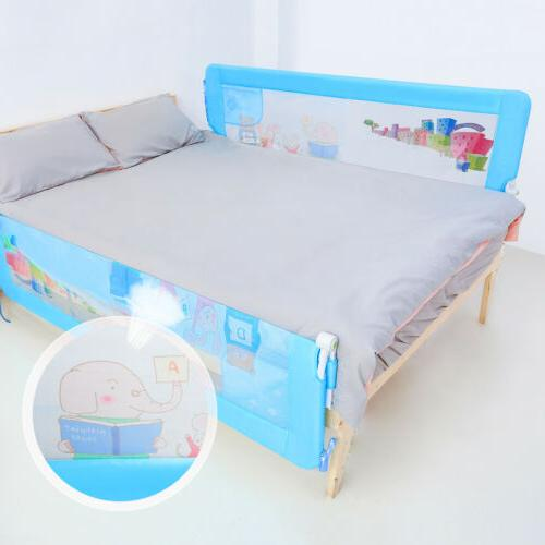 71''/1.8m Baby Child Bed Rail Safety Bedrail Anti Falling Be