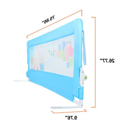 Baby Toddlers' Safety Bed Sturdy Durable Down Wall