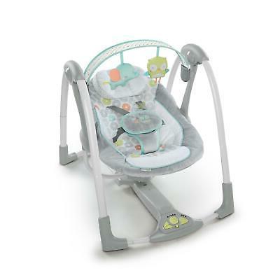 Portable Swing Hug Hoots Baby Ingenuity Sleeper Bouncer Hold