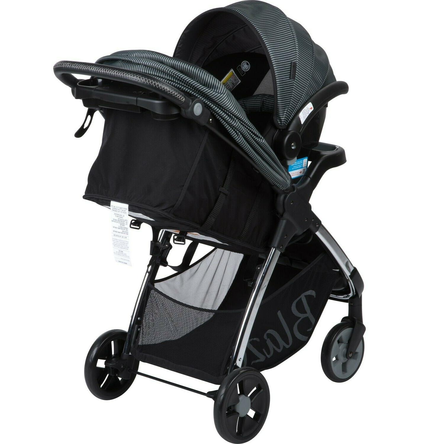 Baby Stroller with Car High Black