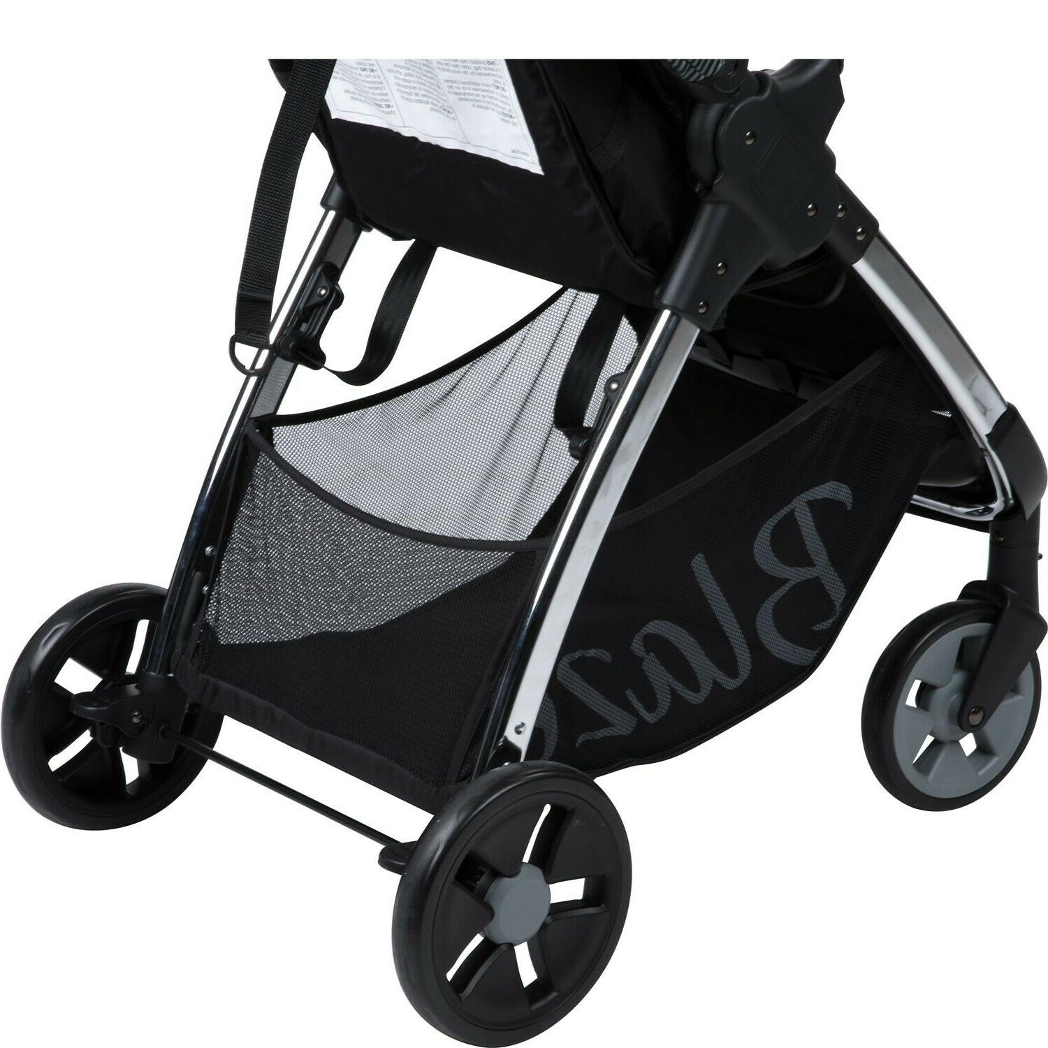 Baby with Car Playard High Combo Black