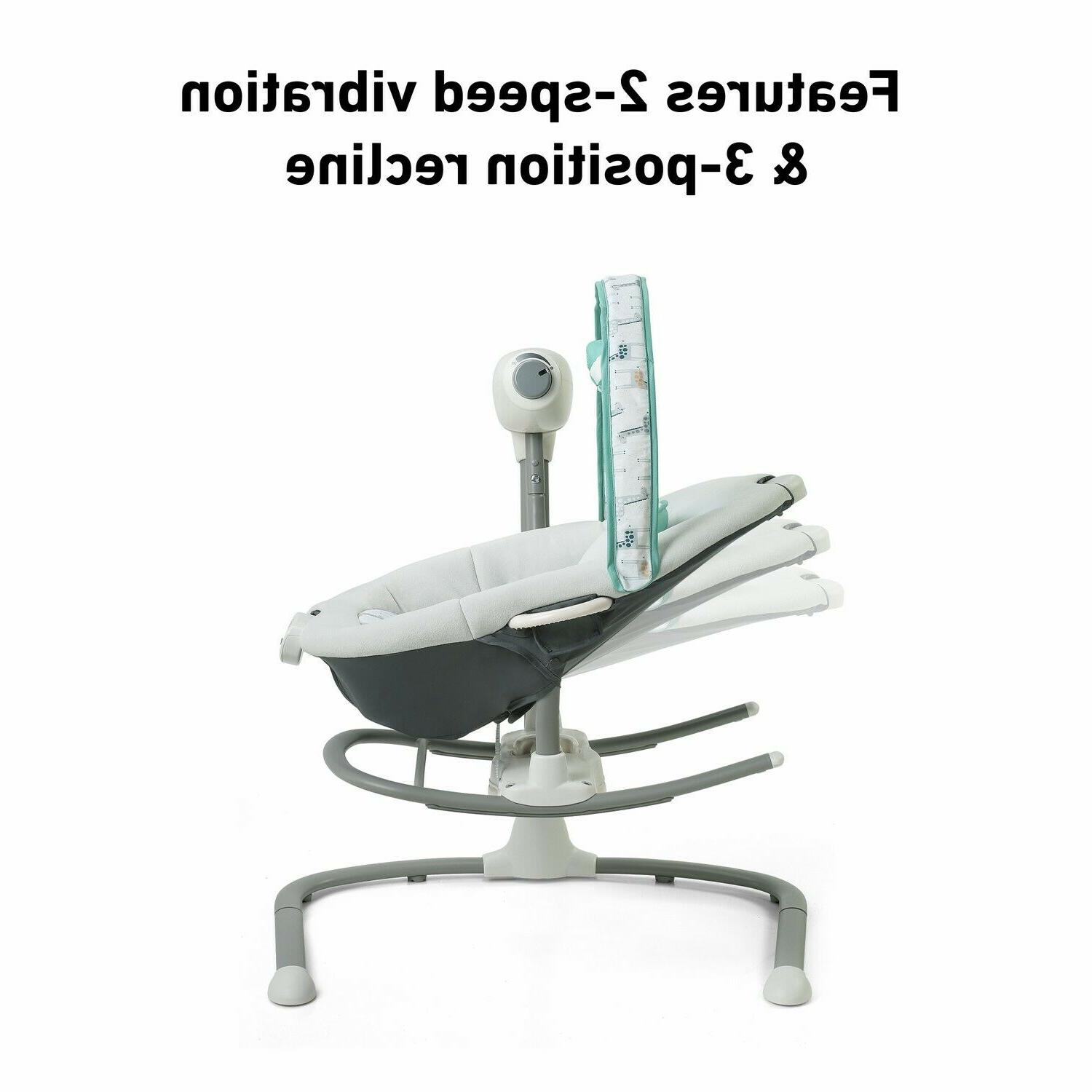 with Infant Swing High Chair Combo