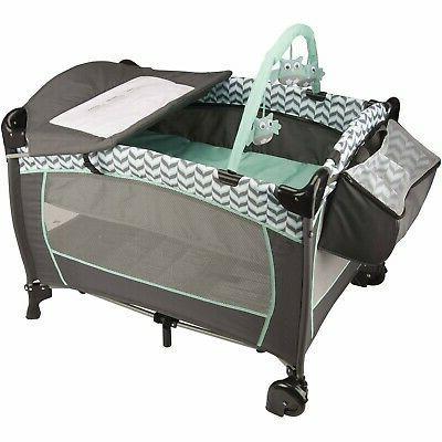Baby Travel with Car Seat Playard Swing Set