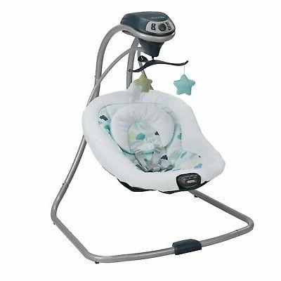 Baby Stroller with Infant Playard Swing Set