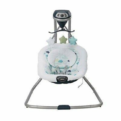 Baby Stroller Travel with Car Playard Swing Set