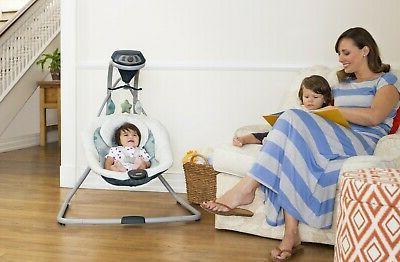 Baby Stroller with Playard Swing Set
