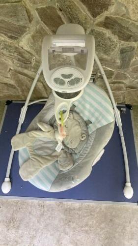 Baby Swing inlighten cradling & Functuonal