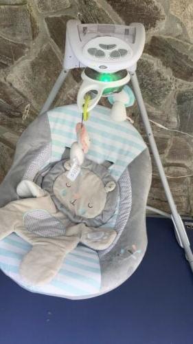 Baby inlighten cradling swing Clean, Complete & Functuonal
