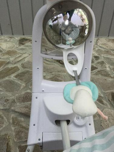 baby swing inlighten cradling swing clean complete